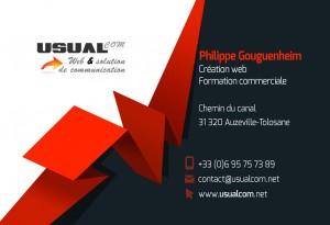 usualcom - Carte de visite