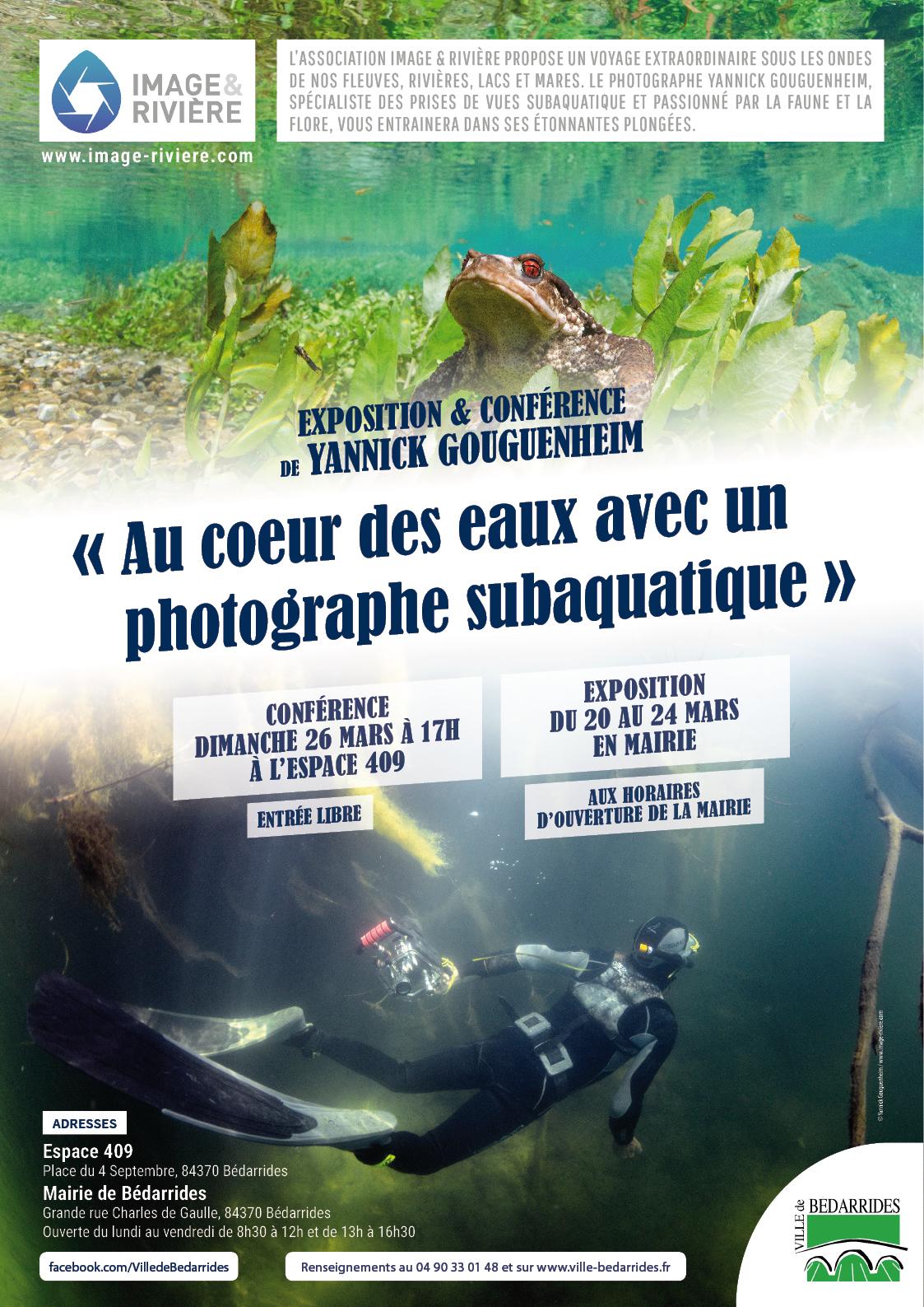 Conférence photos subaquatiques 26 mars
